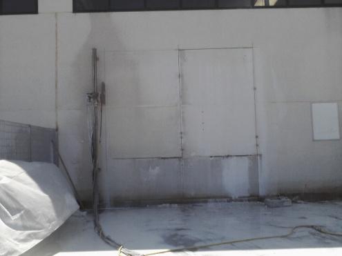 Taglio parete in C.A. preff.
